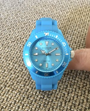 Candy Time by Madison New York Orologio analogico blu neon