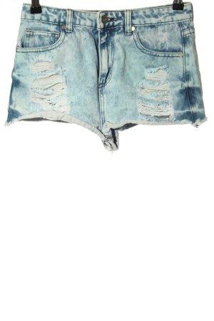 MADLADY Hot Pants blau Casual-Look
