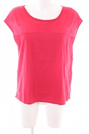 Madness Kurzarm-Bluse pink Casual-Look
