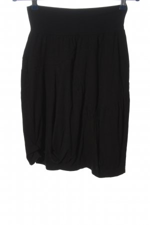 Mado et les Autres Rozkloszowana spódnica czarny W stylu casual