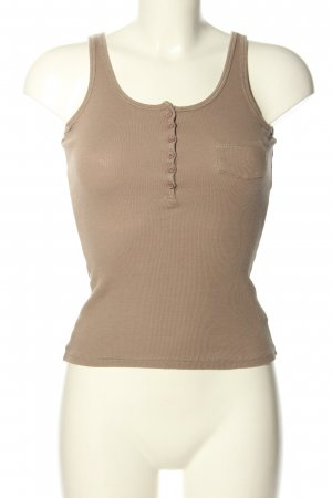 Madonna Basic Top braun Casual-Look