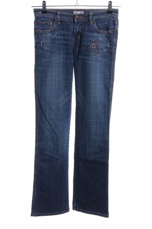 Madonna Boot Cut Jeans blau Casual-Look