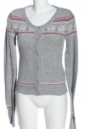 Madonna Cardigan grafisches Muster Casual-Look