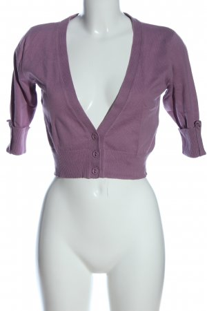 Madonna Cardigan lila Casual-Look