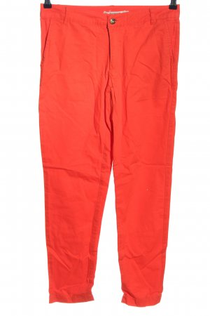 Madonna Chinohose rot Casual-Look