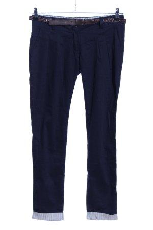 Madonna Pantalon chinos bleu style décontracté
