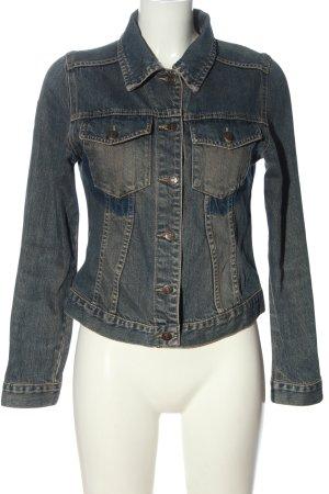 Madonna Jeansowa kurtka niebieski W stylu casual