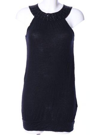 Madonna Jerseykleid schwarz Elegant