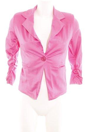 Madonna Kurz-Blazer pink extravaganter Stil