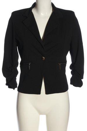 Madonna Korte blazer zwart zakelijke stijl