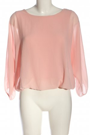 Madonna Langarm-Bluse pink Business-Look