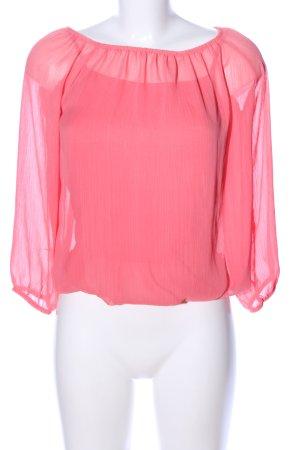Madonna Langarm-Bluse pink Elegant