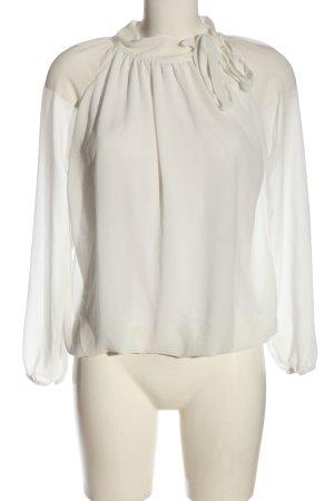 Madonna Bluzka z długim rękawem biały W stylu casual