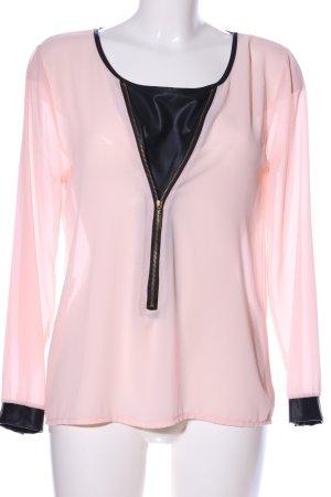 Madonna Langarm-Bluse pink Casual-Look