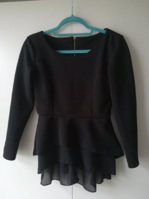 Madonna Boatneck Shirt black
