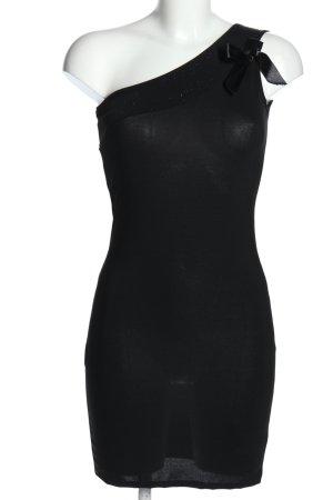 Madonna Minikleid schwarz Elegant