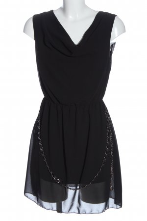 Madonna Robe courte noir style festif