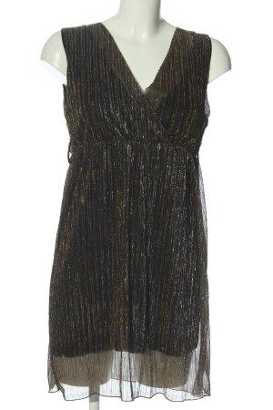 Madonna Minikleid bronzefarben Elegant