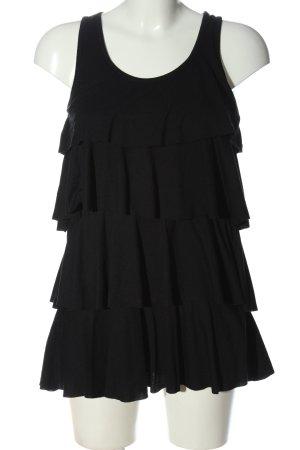 Madonna Minikleid schwarz Casual-Look