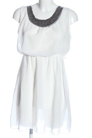Madonna Minikleid weiß Elegant