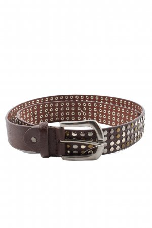 Madonna Studded Belt brown casual look