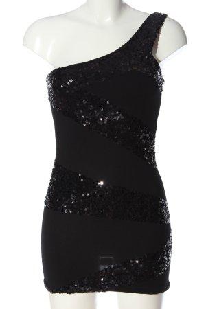 Madonna One-Shoulder-Shirt schwarz Elegant