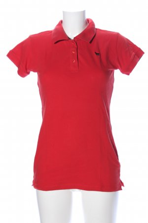 Madonna Polo-Shirt rot Casual-Look
