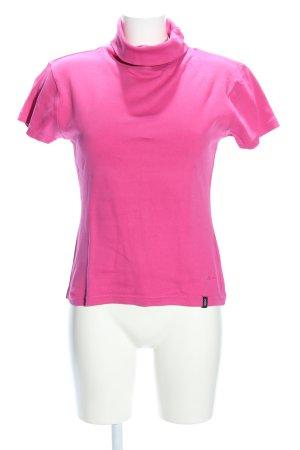 Madonna Rollkragenshirt pink Casual-Look