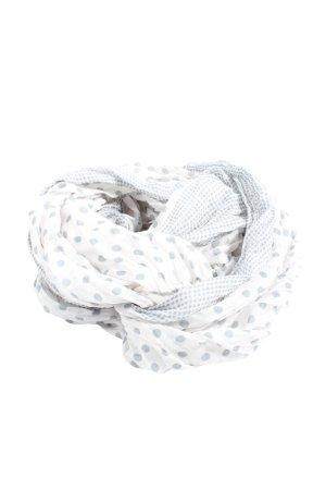 Madonna Écharpe ronde blanc-gris clair motif de tache style décontracté