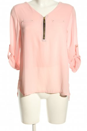 Madonna Schlupf-Bluse pink Casual-Look