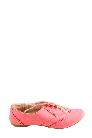 Madonna Schnürschuhe pink Casual-Look