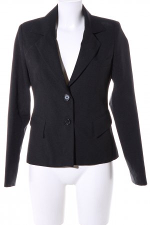 Madonna Smoking-Blazer schwarz Business-Look