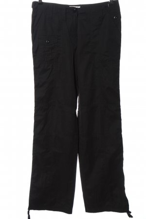 Madonna Pantalone jersey nero stile casual