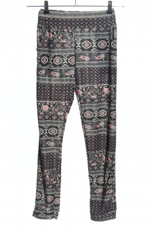Madonna Stoffhose Allover-Druck Casual-Look