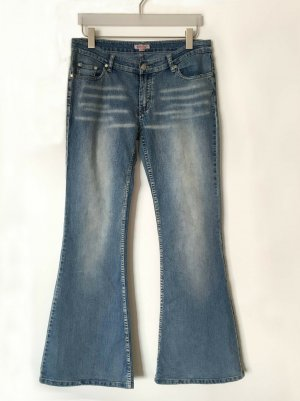 Madonna Denim Flares blue cotton