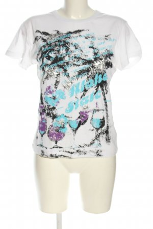 Madonna T-Shirt Motivdruck Casual-Look