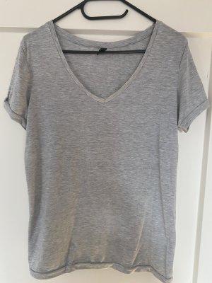 Madonna T-shirt grigio-grigio chiaro