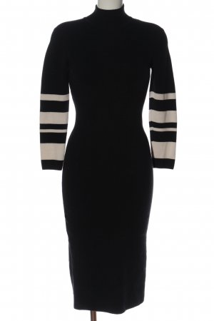 Mads nørgaard Pencil Dress black-white casual look