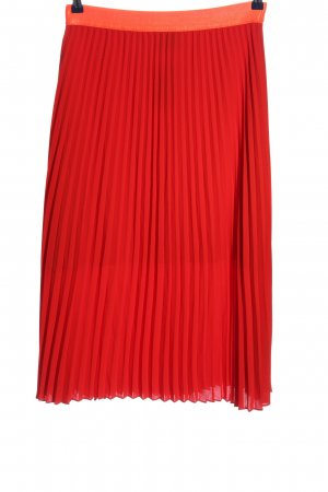 Mads nørgaard Crash Skirt red casual look