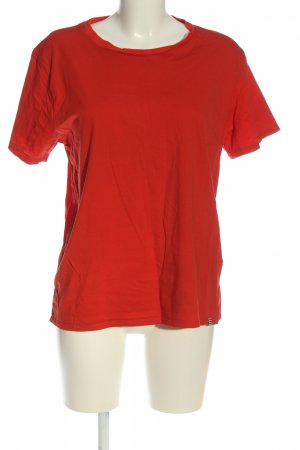 Mads nørgaard T-shirt rosso stile casual