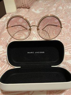 Marc Jacobs Gafas de sol redondas color rosa dorado