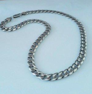 Mächtige 925 Sterling Silber Panzerkette Collier Silberkette silbercollier