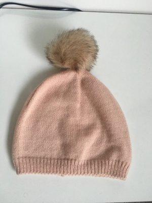 Bijou Brigitte Bobble Hat light pink polyacrylic