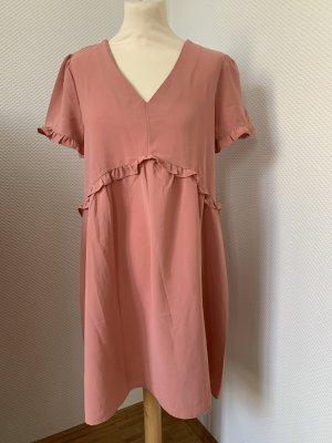 Cerise Blue Summer Dress pink