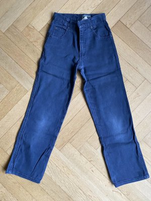 Mädchenhose Blau Denim Jeans Größe 134