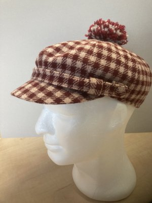 STETSON Fabric Hat bordeaux-cream wool