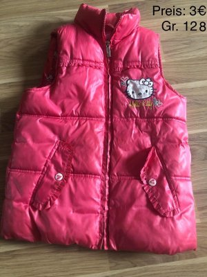 Hello kitty Quilted Gilet pink