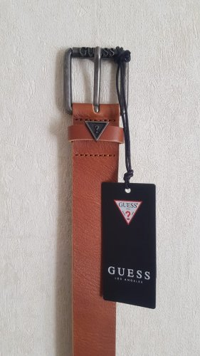 Guess Leather Belt brown leather