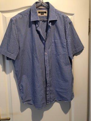 Marco Polo Camisa de manga corta blanco-azul