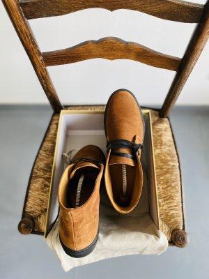 100% Fashion Slip-on laarzen cognac
